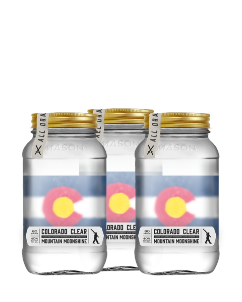 Colorado Clear Mountain Moonshine 3 Bottle Bundle - Shipping Included