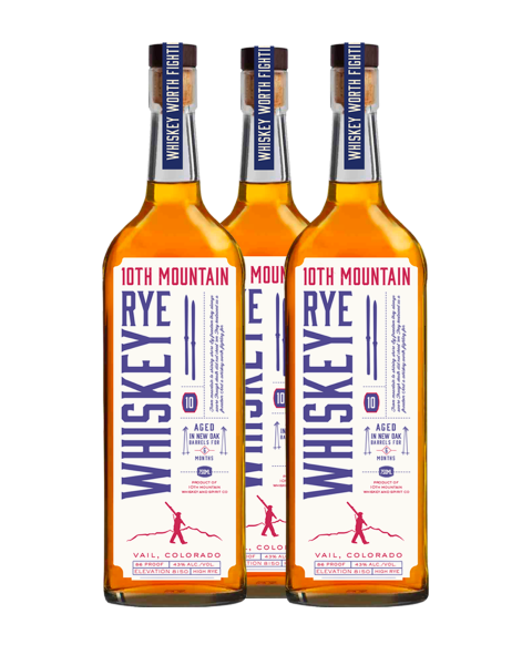 Rye Whiskey 3 Bottle Package - Shipping Included
