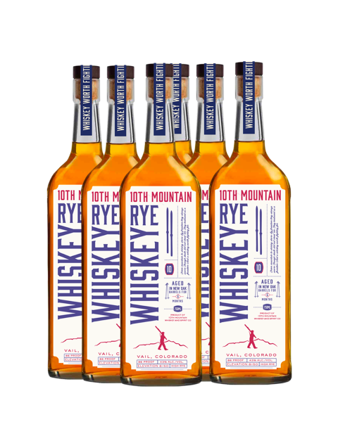 Rye Whiskey 6 Bottle Package - 10% Off & Shipping Included