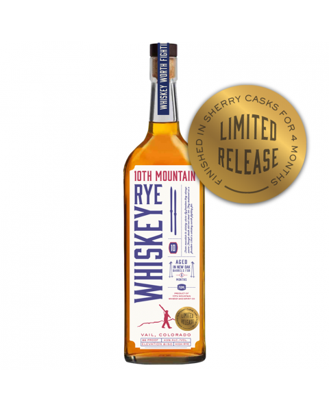 Limited Edition Rye Sherry Cask Finish